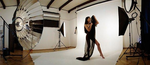 работа с моделями в фотостудиях