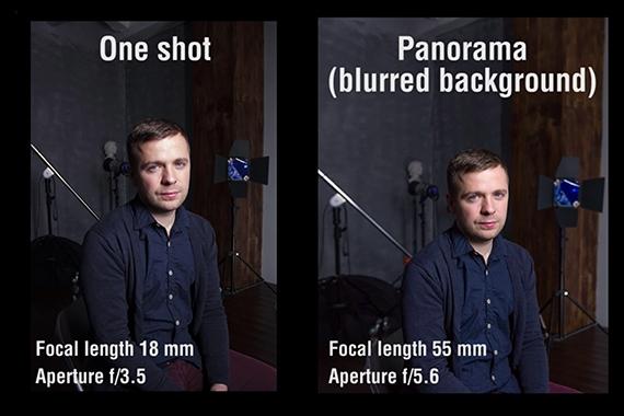как создать эффект боке с объективом 18-55