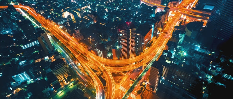 Кадр тайм-лапса из проекта Джастина At the Conflux, снятый из гостиничного номера в Синдзюку, Токио. Настройки: F/3.2, 8', 16 мм