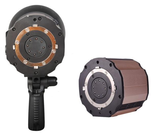 Вспышки серии Nicefoto К отличаются от серии N повышенной мощностью (800Ws против 600Ws) и коротким временем перезаряда (около 1,8 секунды на полной мощности)