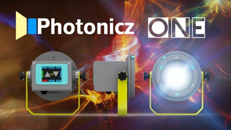 Photonicz One - это светодиодная вспышка с креплением S-mount от Bowens