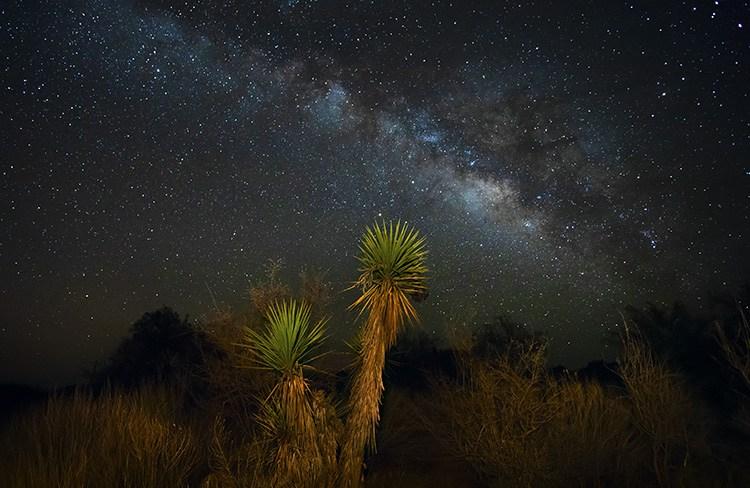 Как фотографировать ночное небо