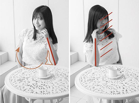 Как правильно позировать для портретных фотографий