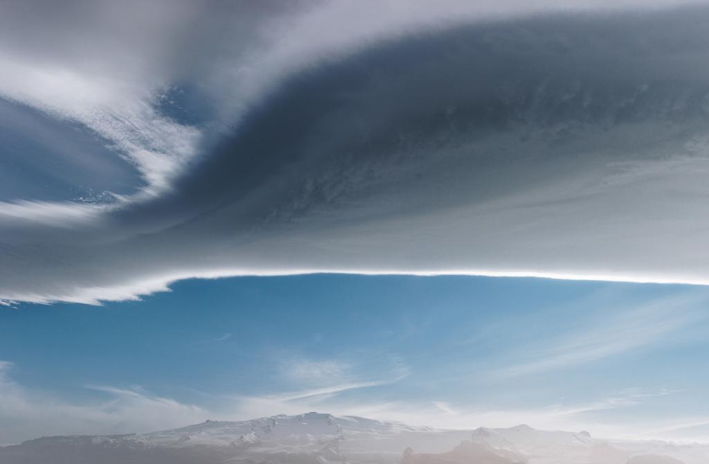 фотографировать облака
