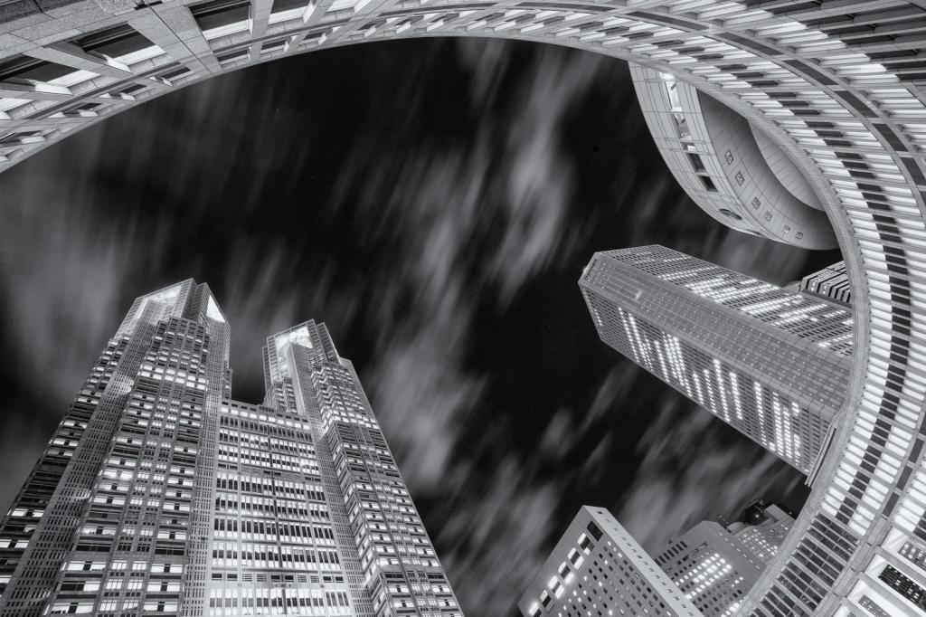9 интересных техник для архитектурной фотографии