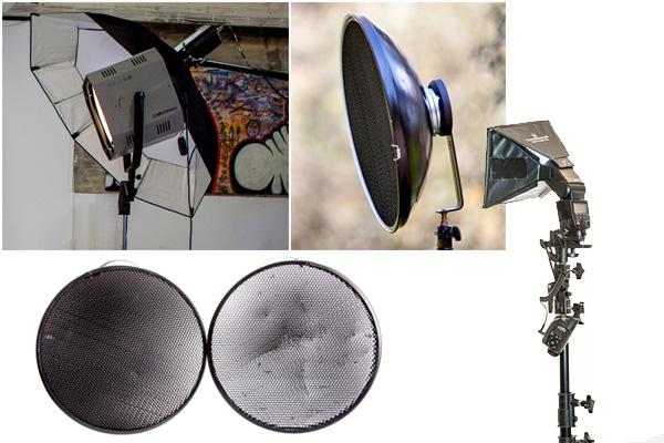 Модификаторы студийного света. Руководство для начинающих