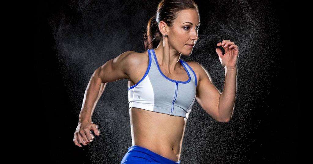 Создание энергичных спортивных портретов в студии