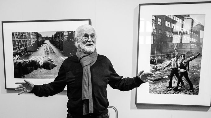 Photographer Josef Koudelka