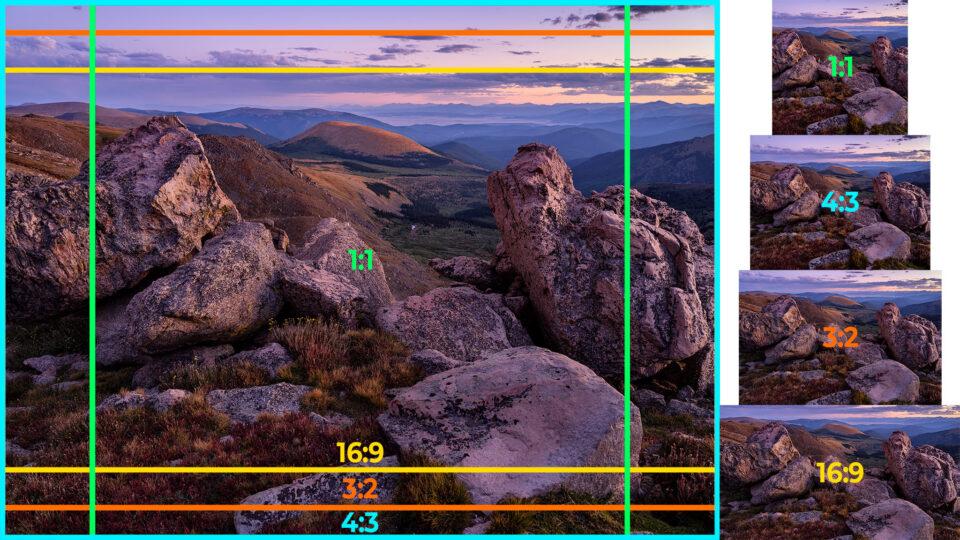 Понимание соотношения сторон в фотографии