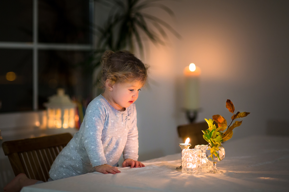 портреты со свечами как фотографировать