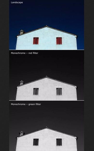 как работать с монохромным изображением
