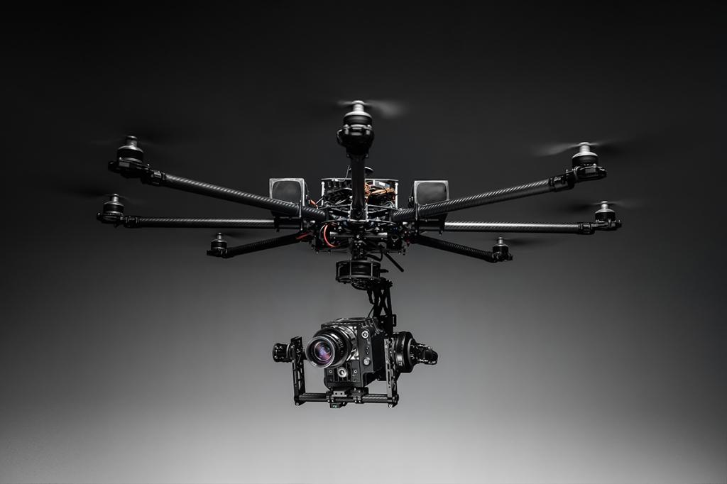 съемка с дроном