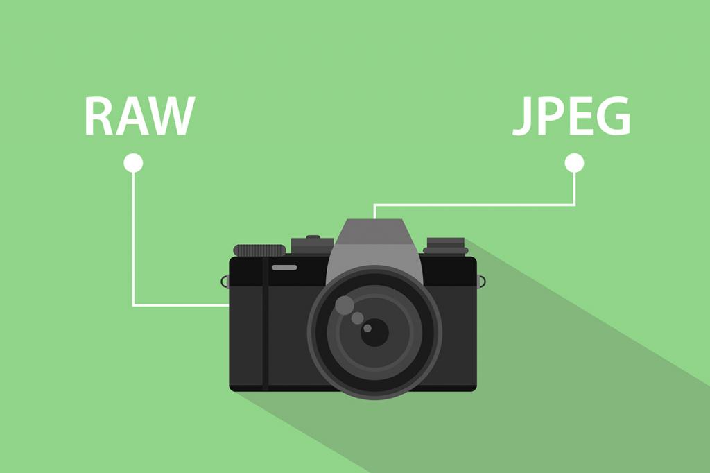 RAW vs JPEG - что же лучше?