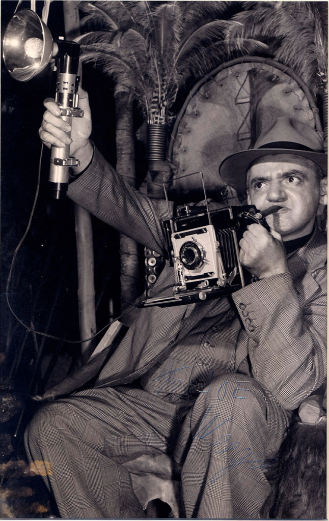 Photographer Weegee