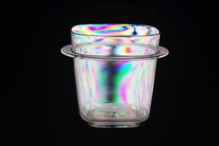 изображения с помощью поляризационного фильтра