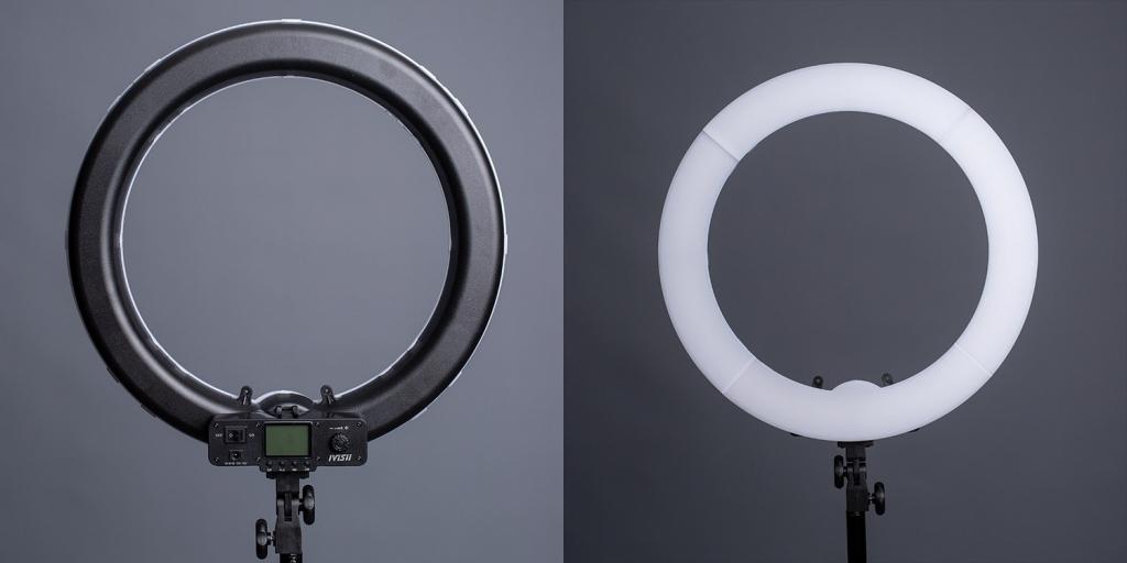 настройки как самому сделать круговой свет для фото уже давно носит