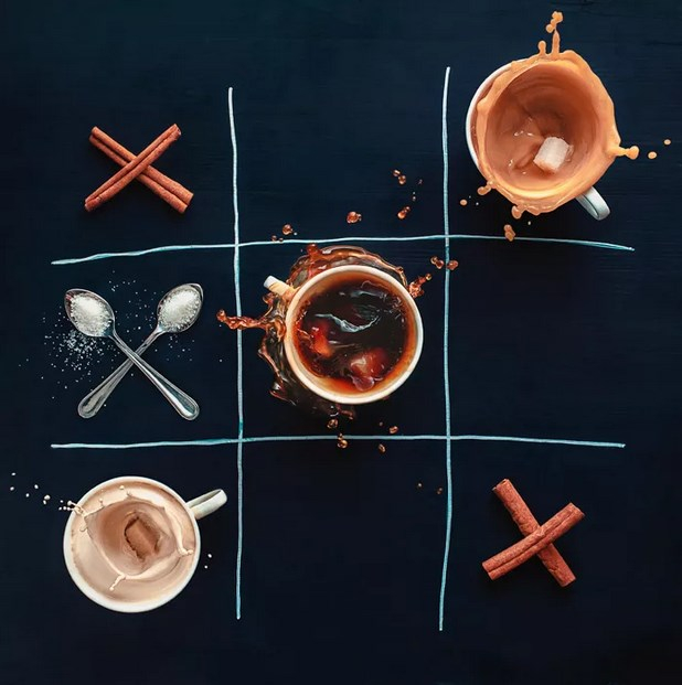 Photo flatlay by Dina Belenko