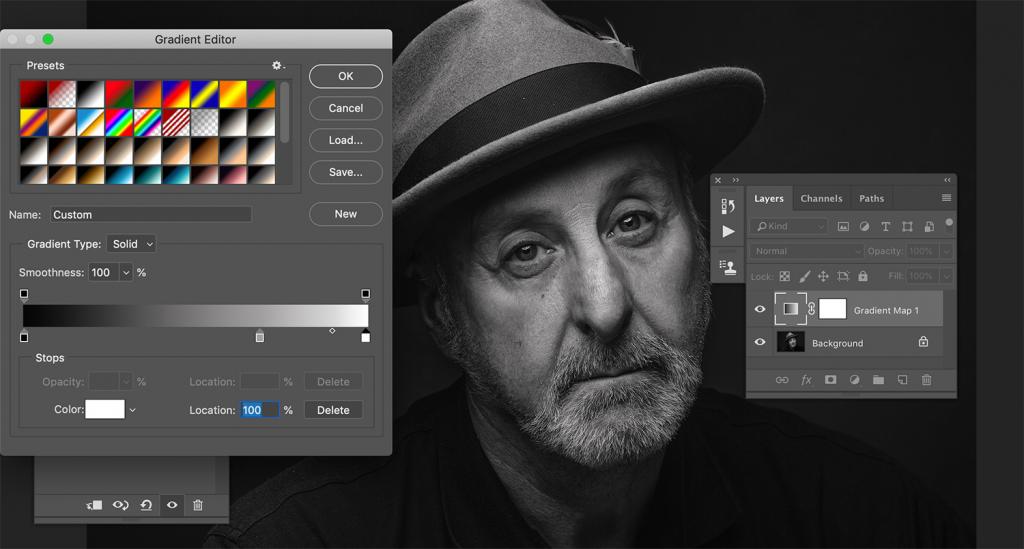Как делать стильные черно-белые портреты