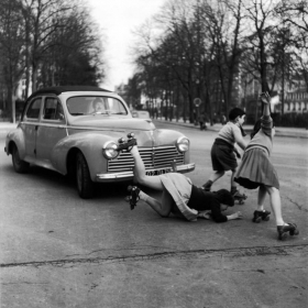 photo by photographer Robert Doisneau