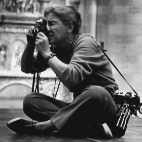 Photographer Eve Arnold