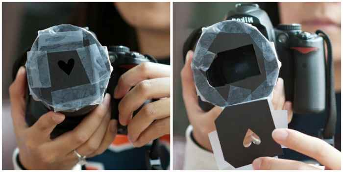 как сделать на фотографии эффект боке