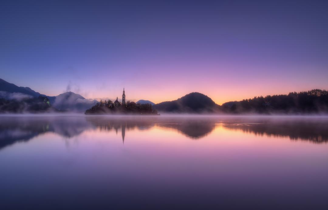 как фотографировать туман на воде