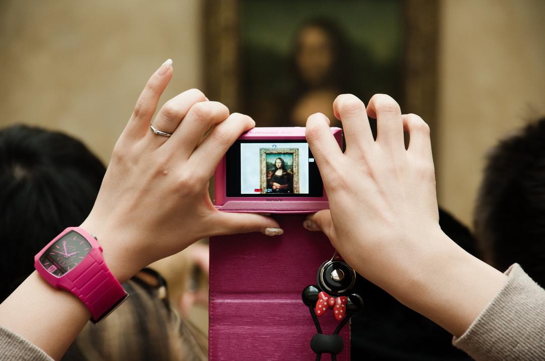 как фотографировать в музее