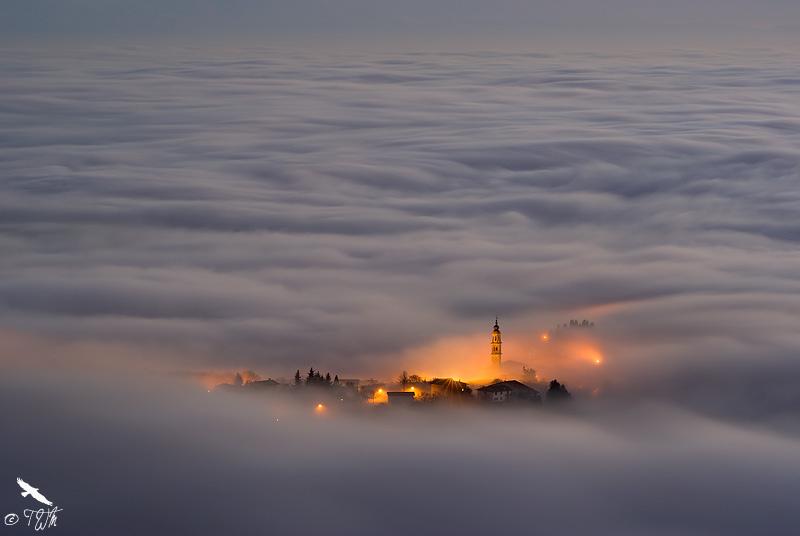 фотографировать туман
