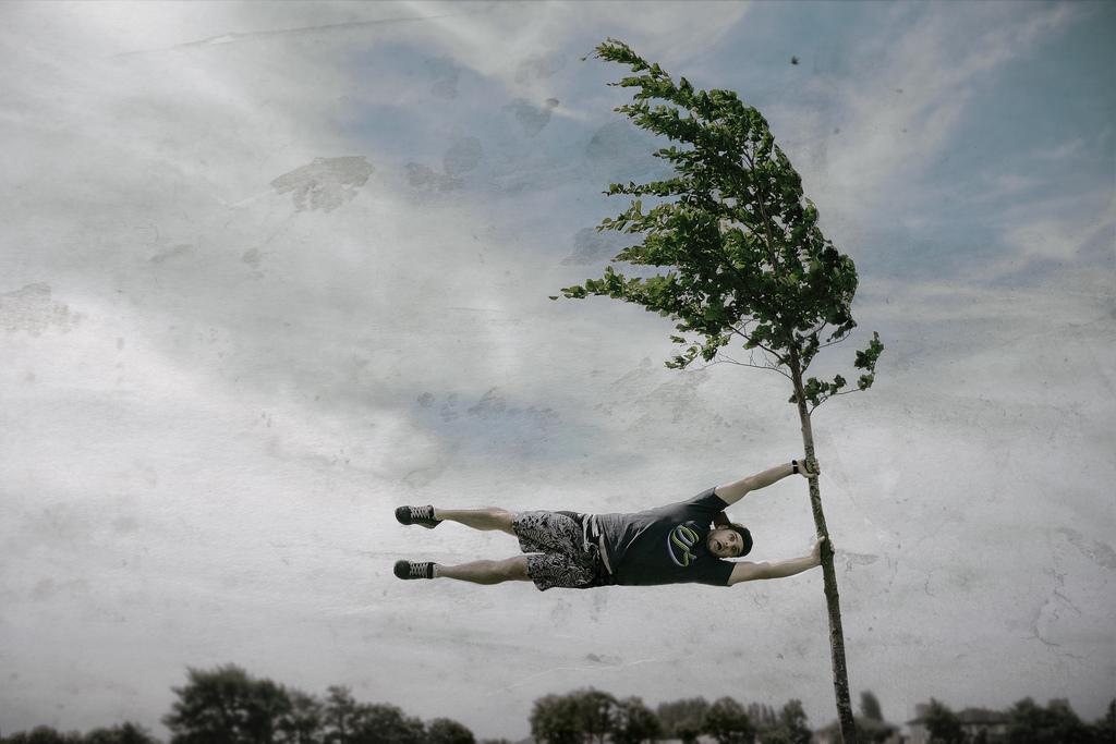 ветреная фотография