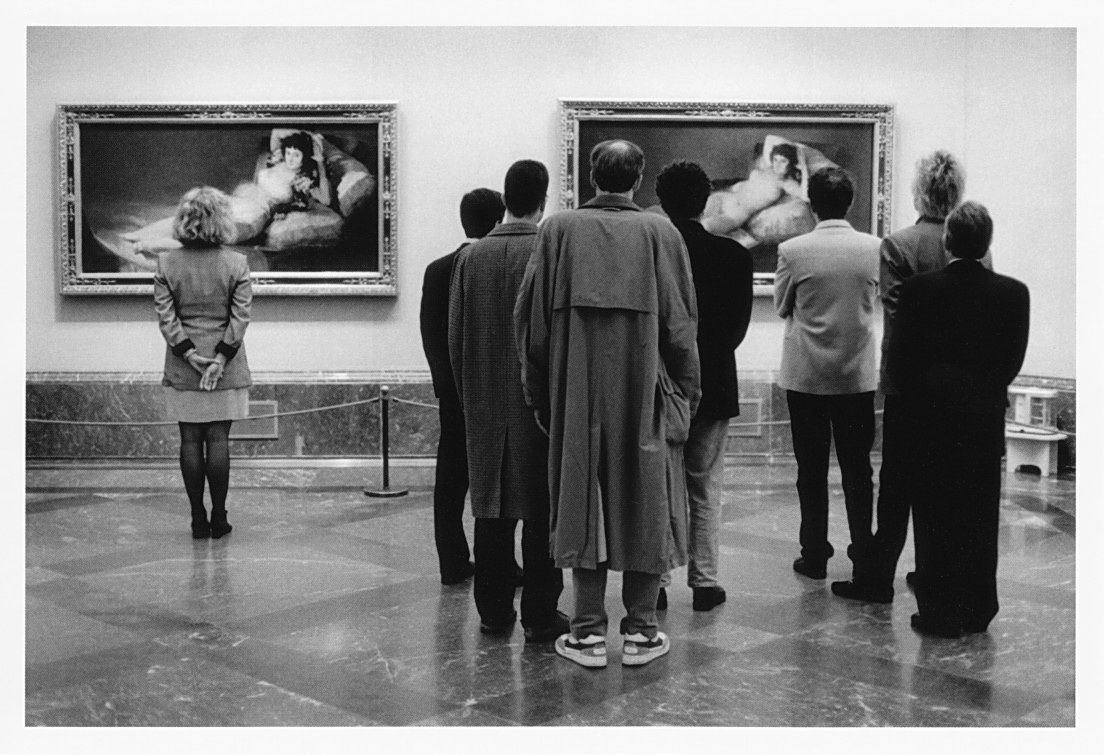 наблюдайте в музеях за людьми