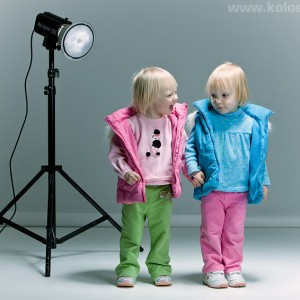детская студийная фотография