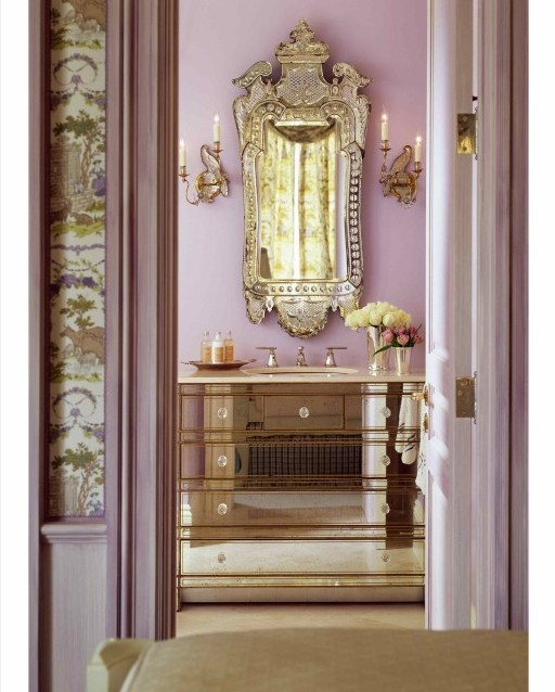 фотография интерьера зеркало