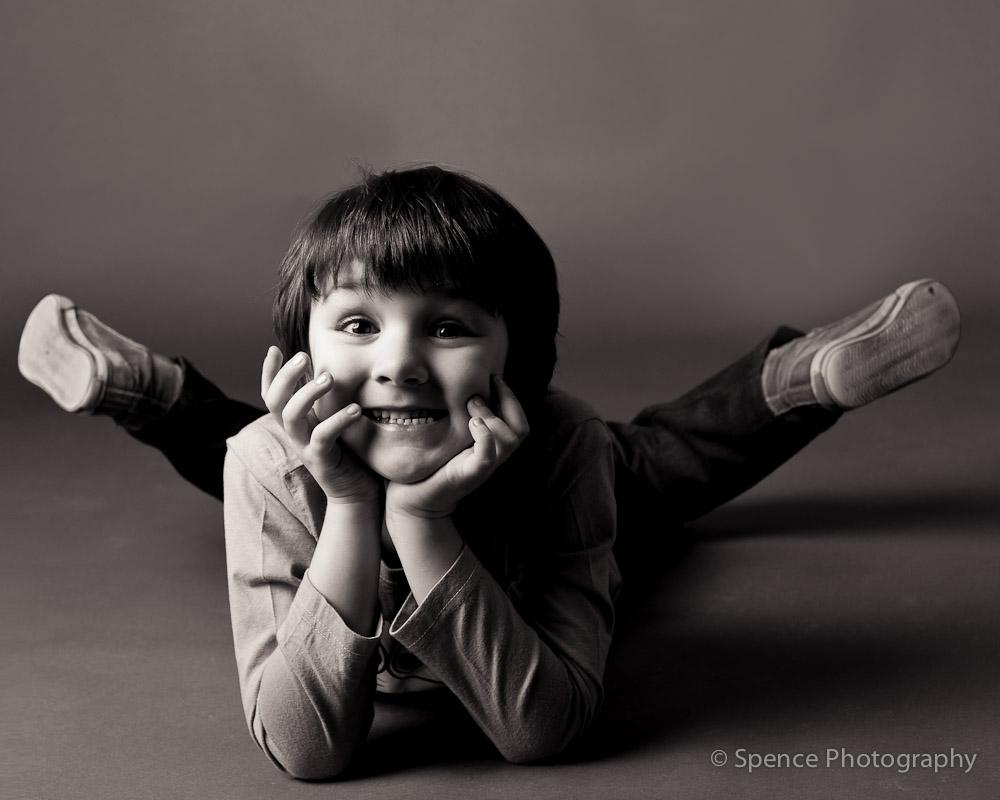 фотография в студии дети