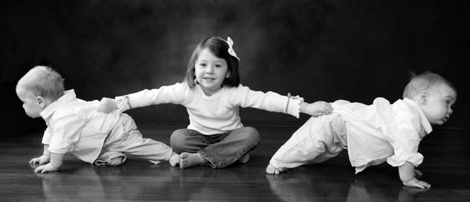 дети в фотостудии