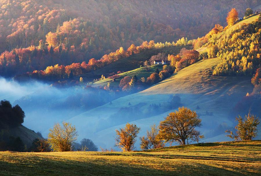 правила композиции пейзажной фотографии
