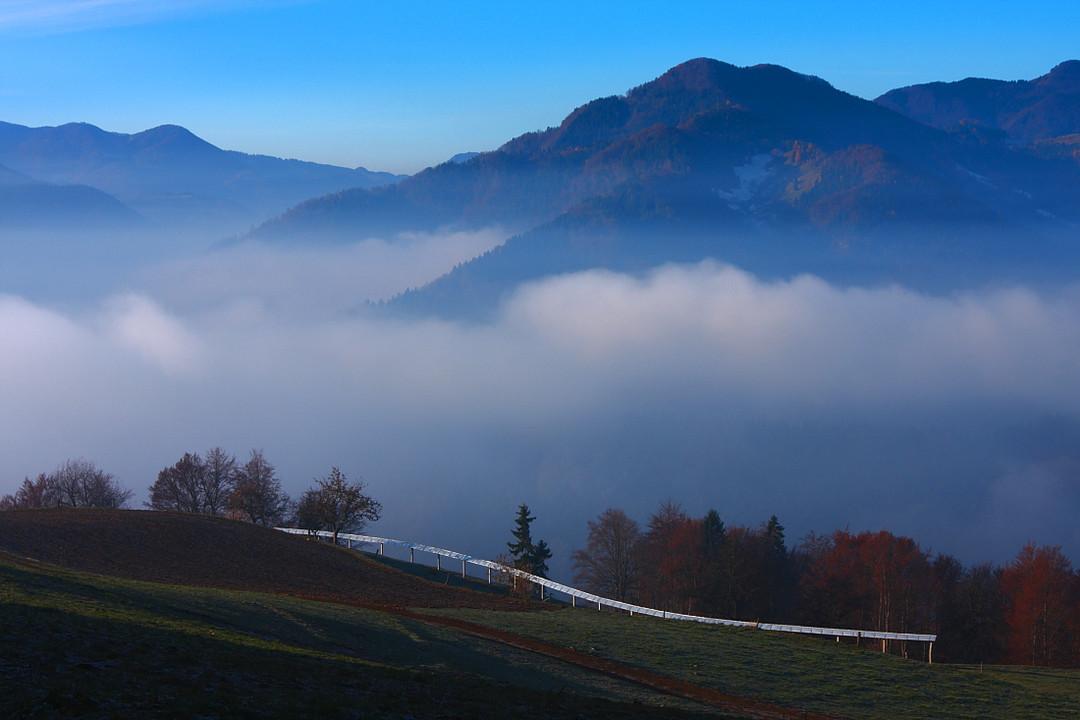 красивая пейзажная фотография