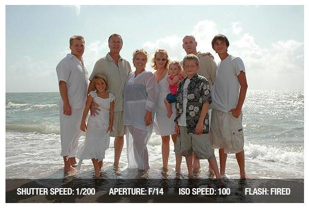 параметры для групповой фотографии