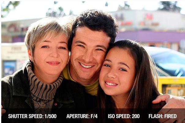 композиция в семейных фотографиях