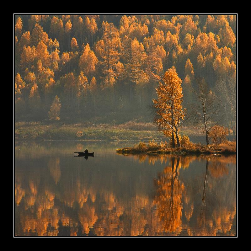 рефлекторное отражение на воде как снимать
