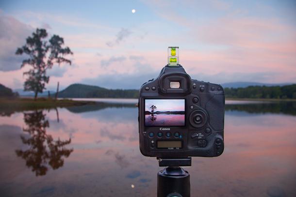как фотографировать отажения на воде