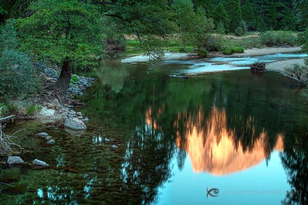правила фотографии зеркального отражение на воде