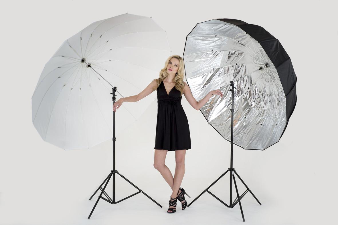 зонты для студии на просвет и отражение