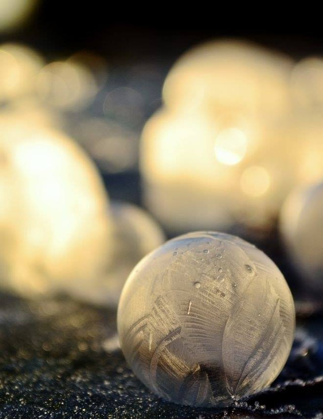 Мыльные пузыри для зимних идей, или Дарите любимым романтику!