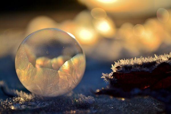 как фотографируют мыльные пузыри на морозе
