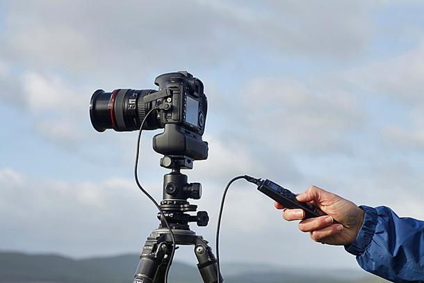 использовать автоспуск для фотоаппарата