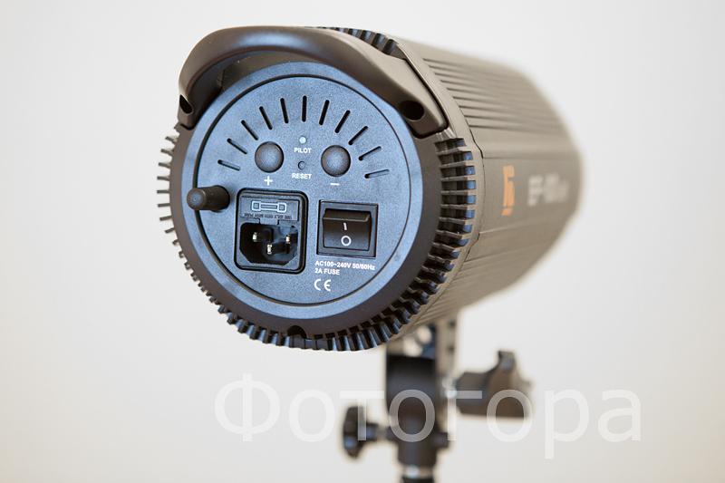 Jinbei EF-100 LED Sun Light  панель управления