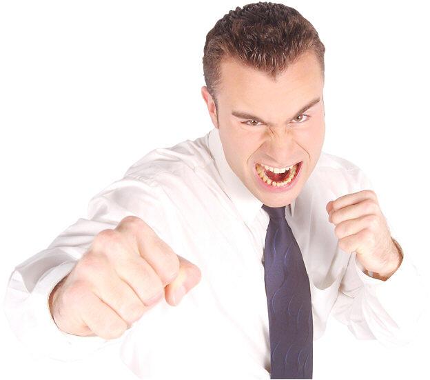 как изобразить агрессивность в портретной съемке