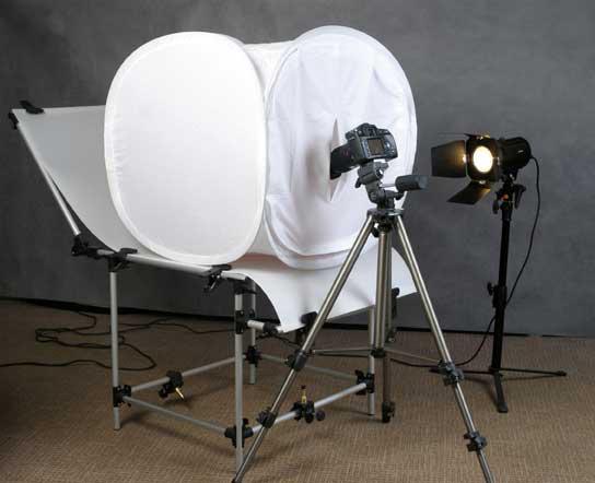 Что выбрать – фотобокс или стол для предметной съемки?