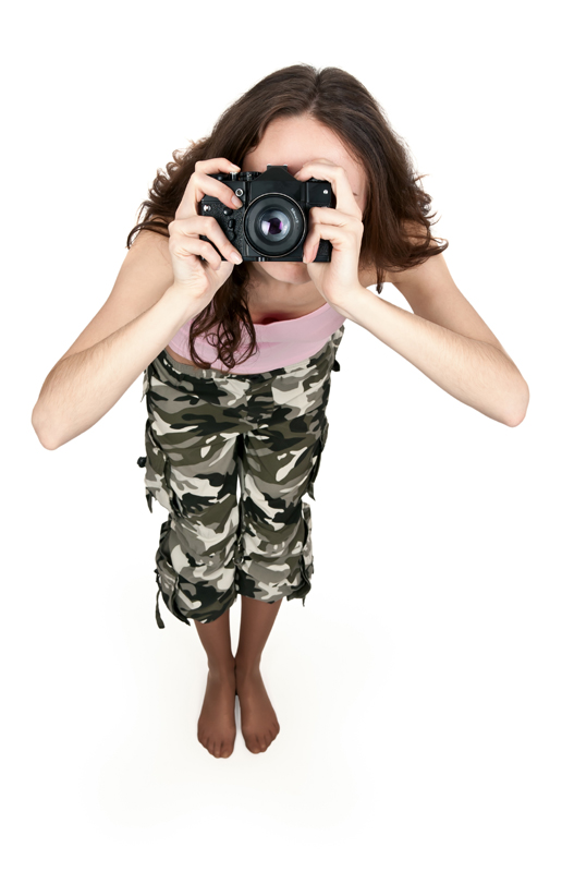 как сделать белый фон на фотографии