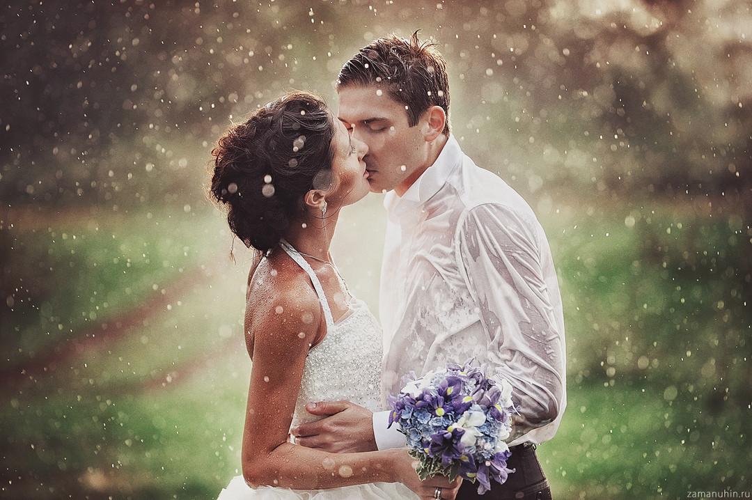как фотографировать свадьбы в дождь